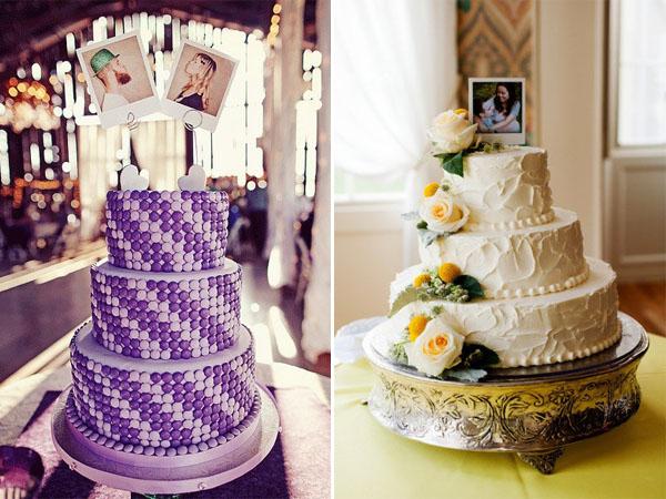 cake topper polaroid