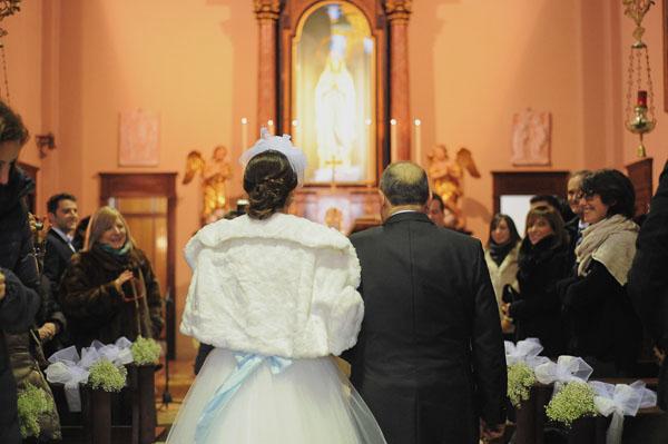 Azzurro Per Matrimonio : Azzurro e argento per un matrimonio natalizio