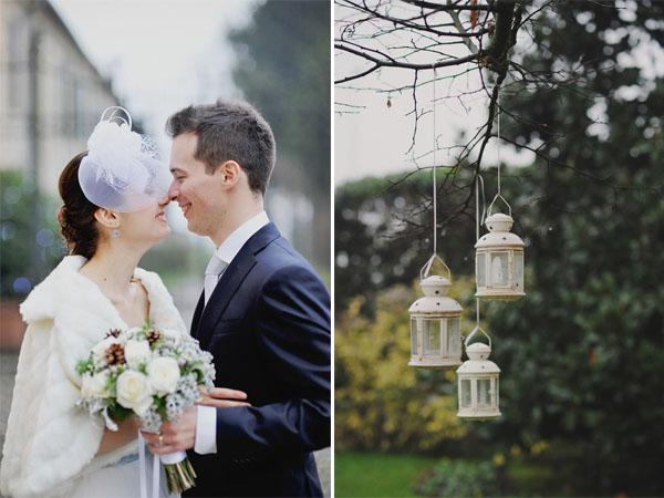 Matrimonio Oro E Azzurro : Azzurro e argento per un matrimonio natalizio