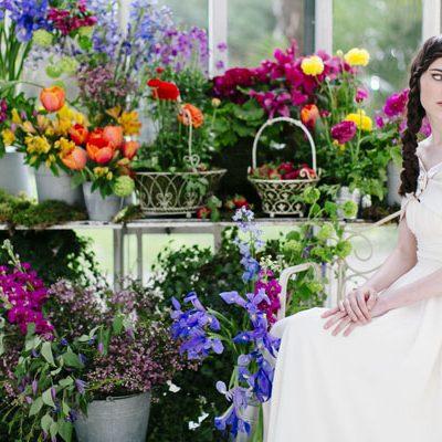 {Inspiration shoot} Colori vibranti per un matrimonio in primavera