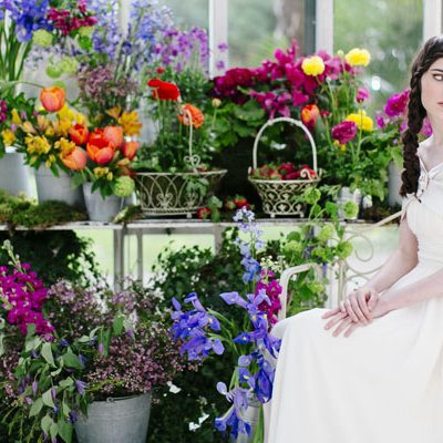 {Inspiration shoot} Colori vibranti per un matrimonio in primavera