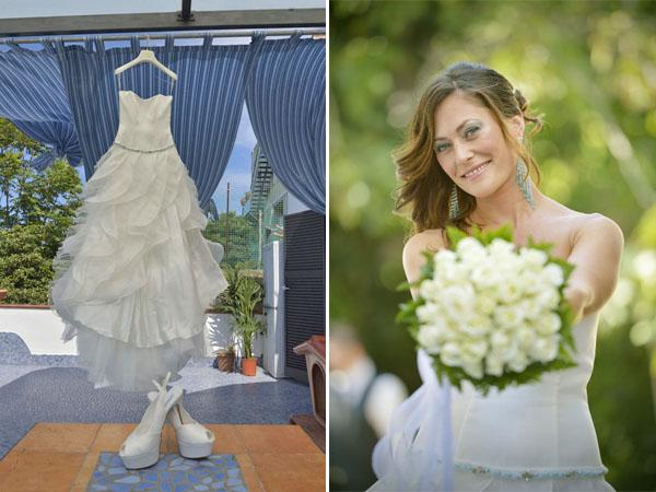 Matrimonio Tema Estate : Un matrimonio ispirato al mare monique e giovanni