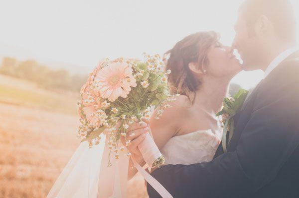 Un matrimonio handmade a tema cuori: Barbara e Carlo