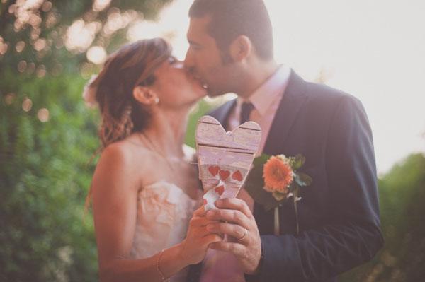 Matrimonio Tema Emozioni : Un matrimonio handmade a tema cuori