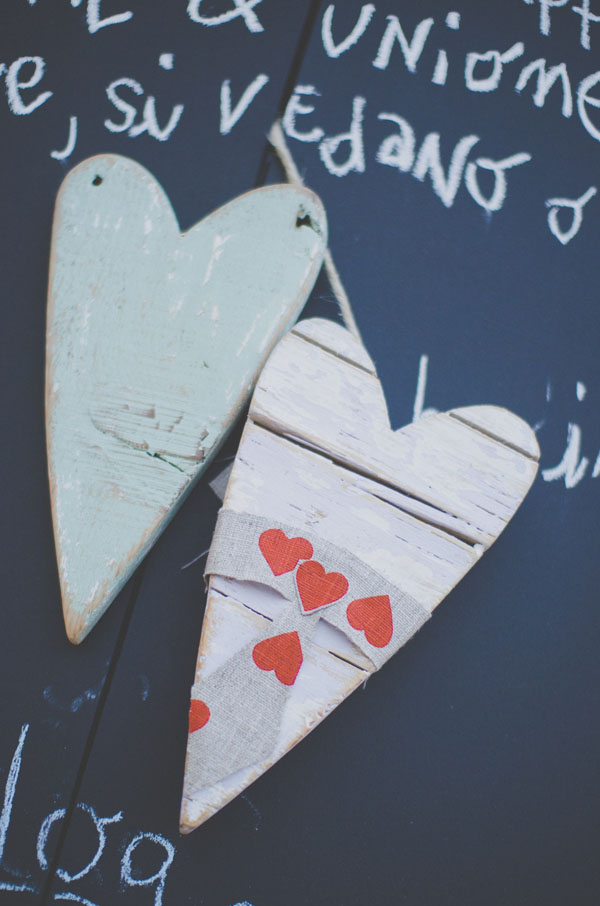 Matrimonio Tema Chiave Del Cuore : Un matrimonio handmade a tema cuori
