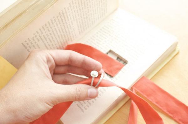 libro porta fedi fai da te