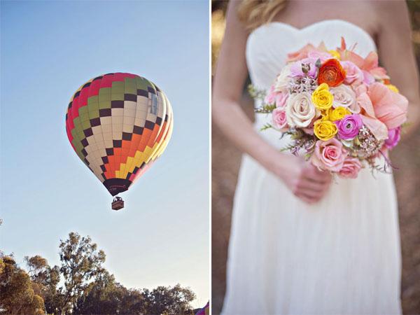 Matrimonio Tema Mongolfiera : Inspiration shoot mongolfiere e mappamondi per un