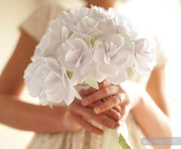 Bouquet Sposa Di Carta.Bouquet Fai Da Te