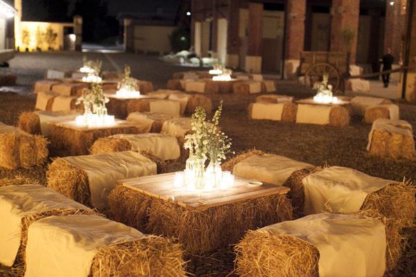 Location Matrimonio Country Chic Lombardia : Un matrimonio country chic a cascina lisone