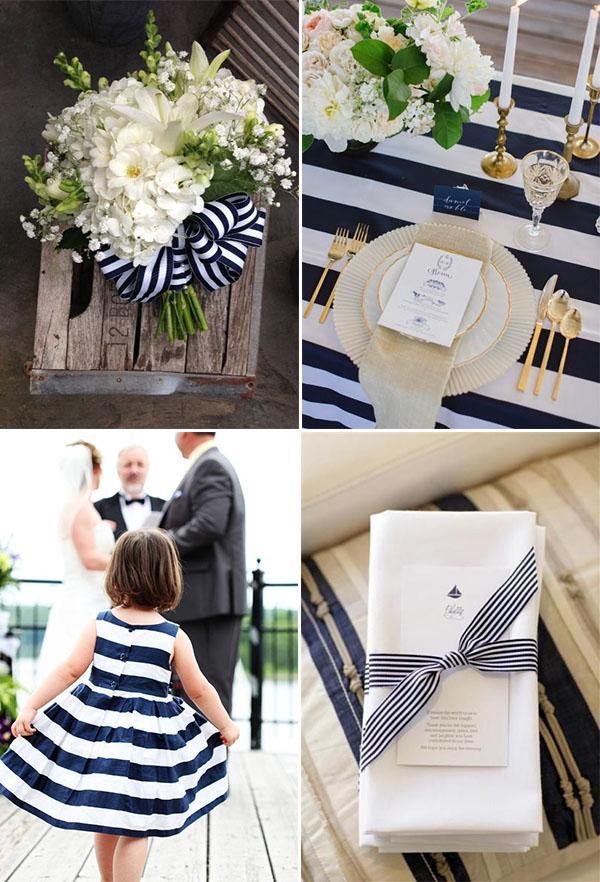 Matrimonio Tema Blu : Idee per matrimonio nautico