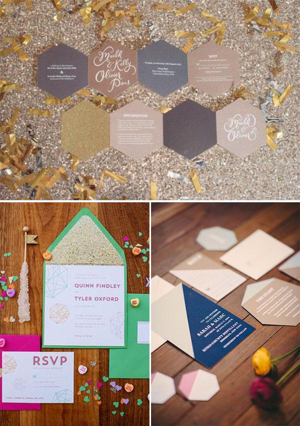 partecipazioni matrimonio geometriche