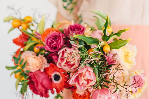 Agrumi per un matrimonio invernale