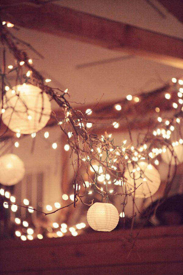 luminarie matrimonio invernale