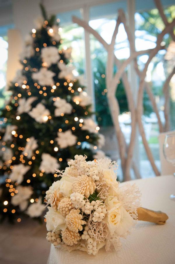 Matrimonio Natalizio Addobbi : Un matrimonio natalizio ispirato al ballo delle debuttanti