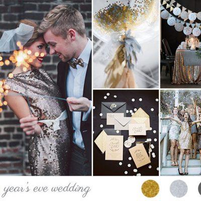 Oro e argento per un matrimonio a San Silvestro