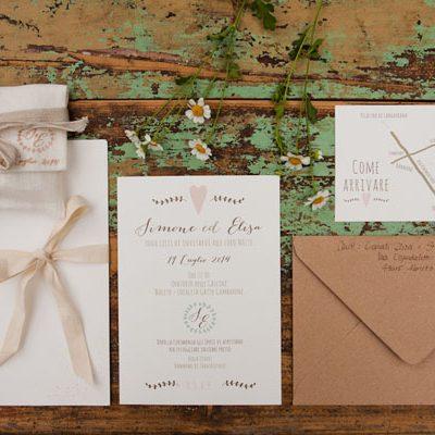 Colori pastello per un matrimonio handmade: Elisa e Simone