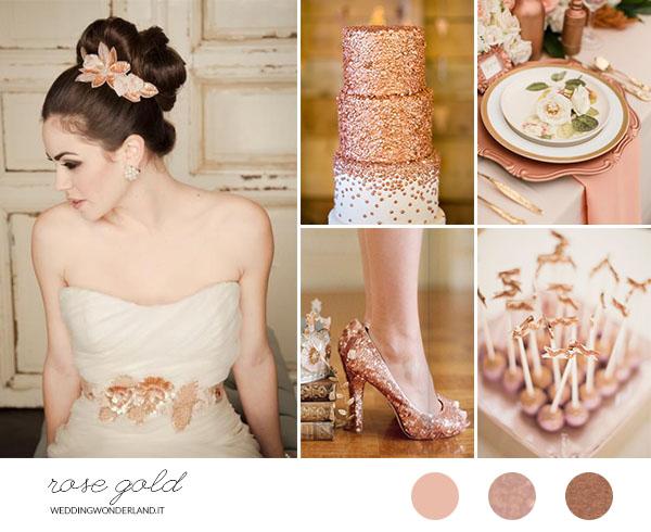 matrimonio oro rosa | wedding wonderland