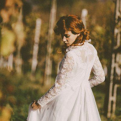 Inspiration shoot: Fiori di cotone per un matrimonio autunnale