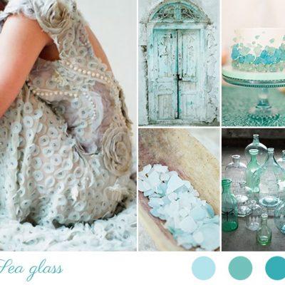 Inspiration board: Sea glass