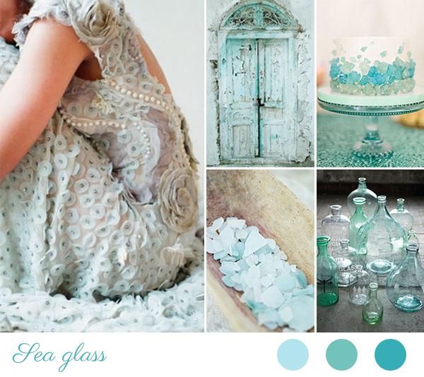 matrimonio azzurro acquamarina | matrimonio ispirato ai vetri di mare