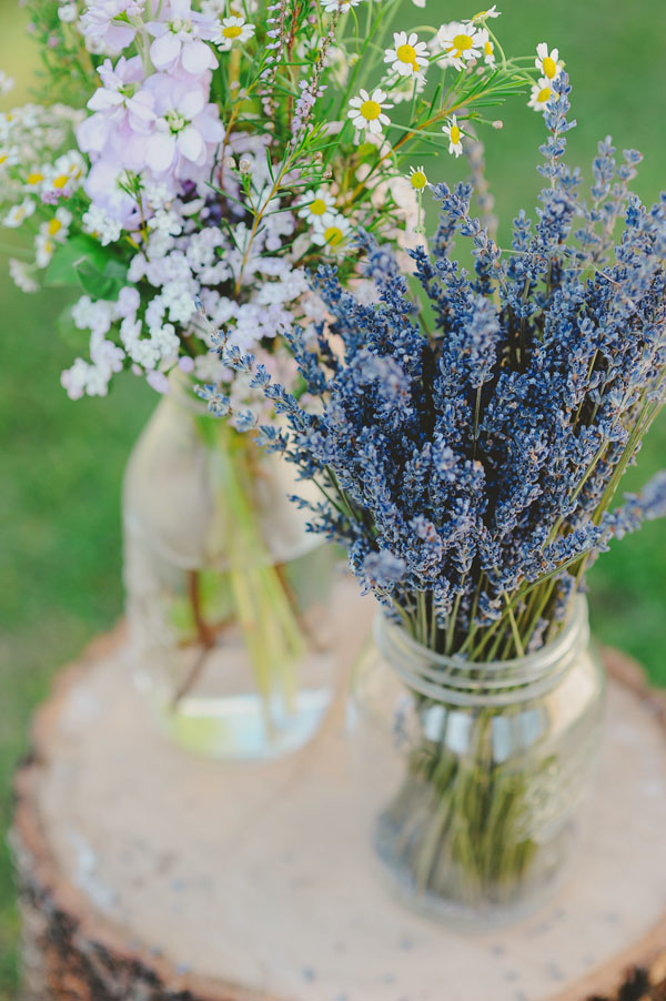 Fiori Matrimonio Rustico : Fiori per un matrimonio in estate
