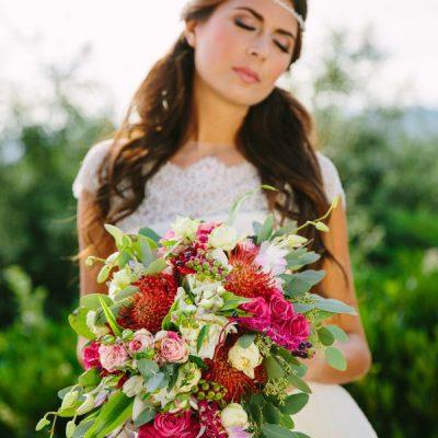 Inspiration shoot: Un matrimonio ispirato ai colori del Chianti