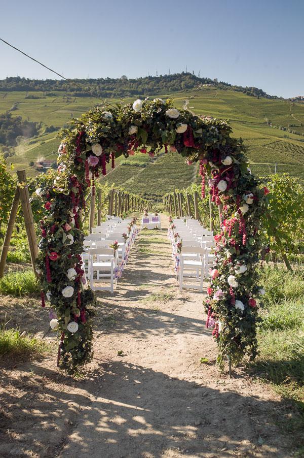 Matrimonio In Vigna Piemonte : Idee per la cerimonia all aperto