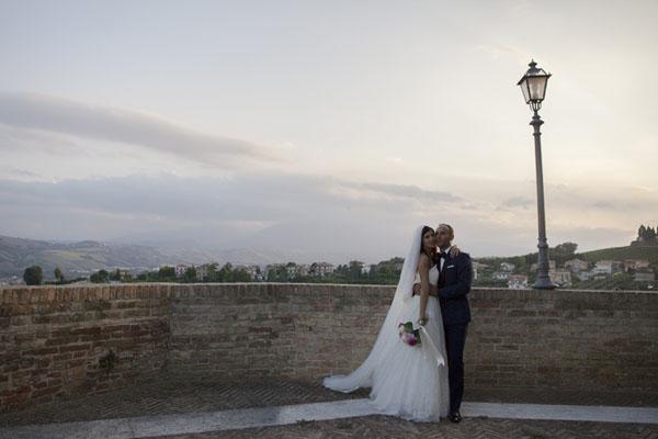 matrimonio romantico bianco e fucsia San Benedetto del Tronto | francescafrancesca-13