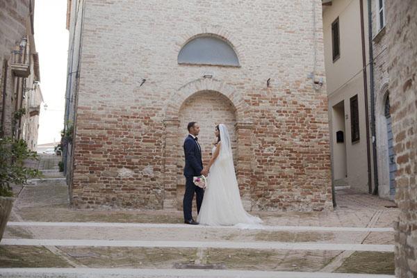 matrimonio romantico bianco e fucsia San Benedetto del Tronto | francescafrancesca-14