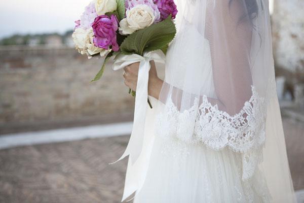 matrimonio romantico bianco e fucsia San Benedetto del Tronto | francescafrancesca-15