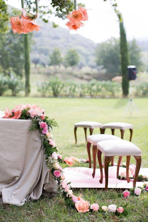 Matrimonio Tema Luce : Idee per la cerimonia all aperto