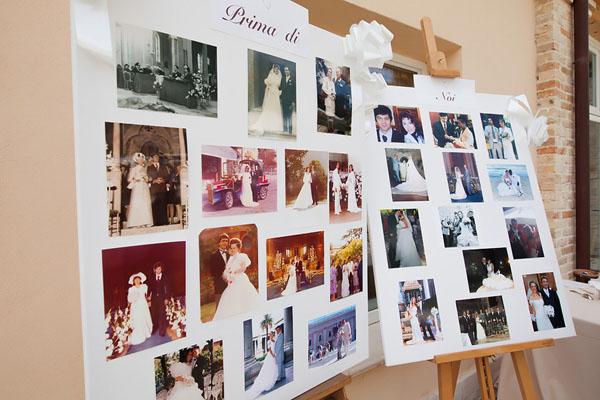 foto vintage al matrimonio