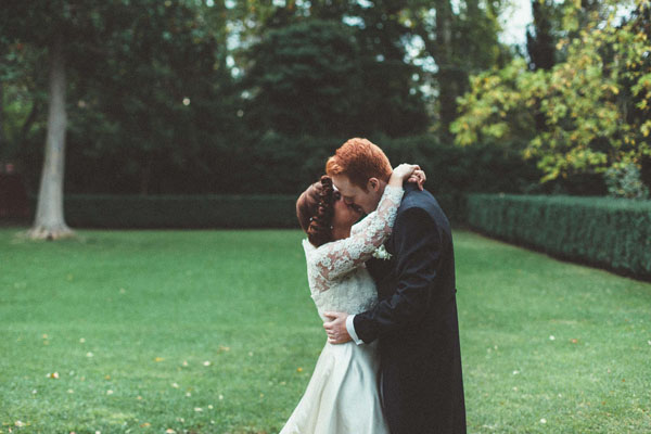 matrimonio english retro