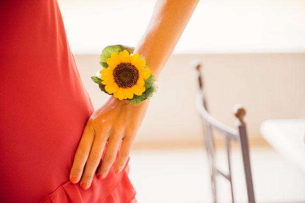 Segnaposto Matrimonio Tema Girasoli : Matrimonio country chic con girasoli e limoni