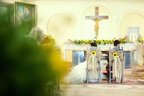 Matrimonio Coi Girasoli : Matrimonio country chic con girasoli e limoni