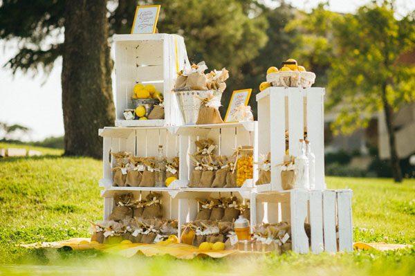 Girasoli e limoni per un matrimonio country chic: Caterina e Leonardo