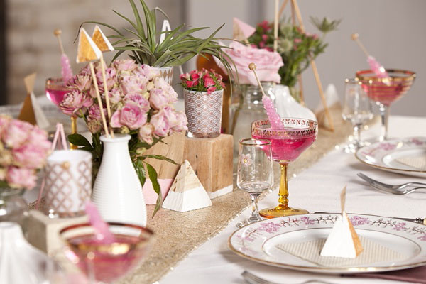 tavola vintage moderna