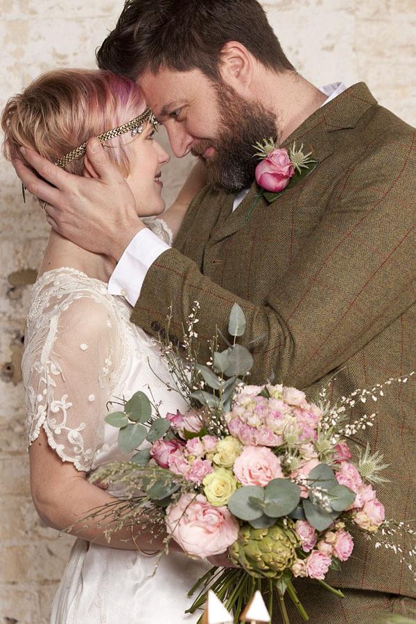matrimonio vintage moderno