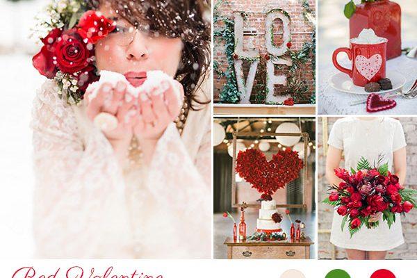 Inspiration board: San Valentino nella neve