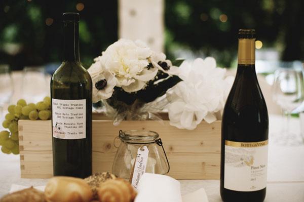 matrimonio a tema vino