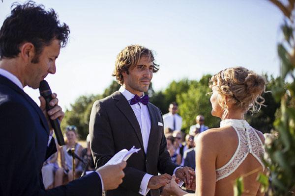 Matrimonio Simbolico In Giardino : Un matrimonio rustico in campo di grano wedding