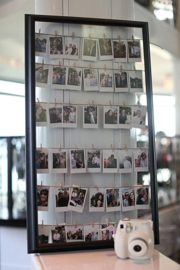 polaroid guestbook | intrattenimento matrimonio