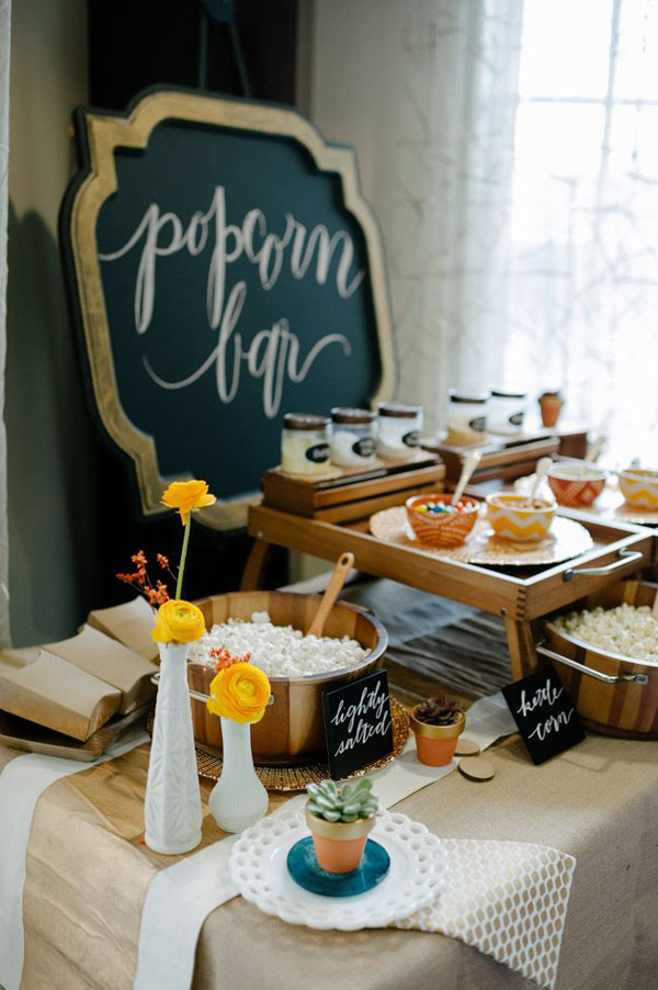 wedding bar | popcorn bar | intrattenimento matrimonio