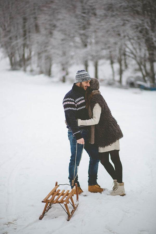 engagement session sulla neve | andrea calvano-15