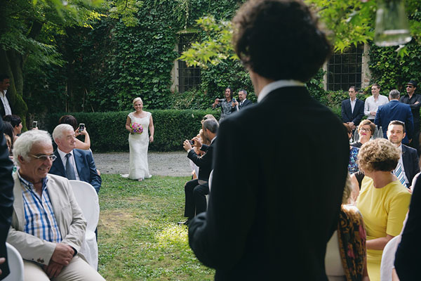 cerimonia all'aperto