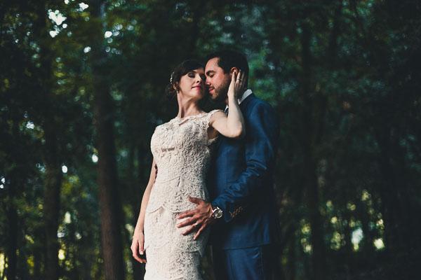 Un matrimonio intimo in Toscana
