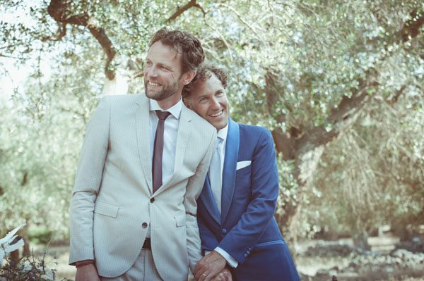 Un matrimonio tra gli ulivi nel Salento
