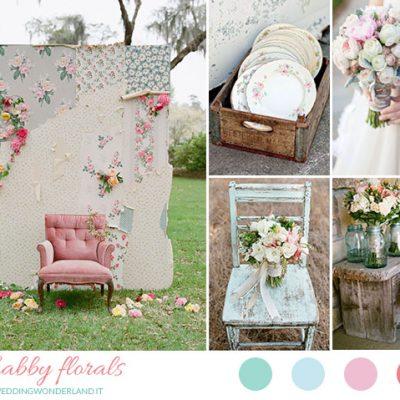 Inspiration board: matrimonio shabby chic