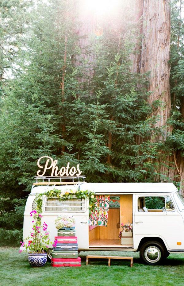 photo booth per matrimonio bohemien