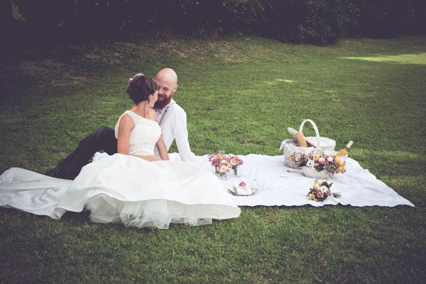 matrimonio picnic in primavera